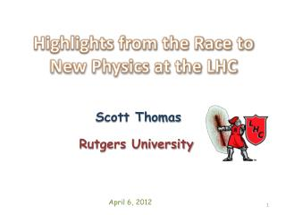 Highlights from the Race to New Physics at the LHC
