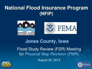 National Flood Insurance Program (NFIP)  Jones County, Iowa