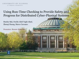 Using Run-Time Checking to Provide Safety and Progress for Distributed Cyber-Physical Systems