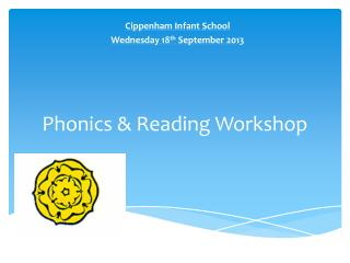 Phonics & Reading Workshop