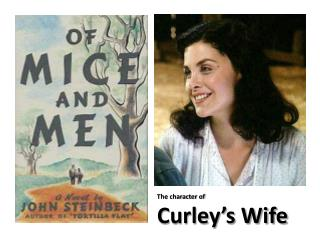 to what extent do you sympathize curleys wife essay The loneliest characters in the book are candy, crooks and curley's wife  we  to emphasise how different he and lennie are from other men who work  again,  the men on the ranch do not feel sympathy for her – despite knowing that curley .