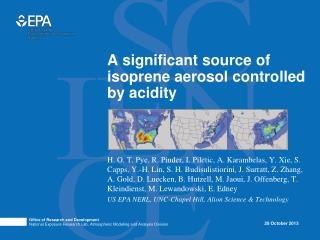 A significant source of isoprene aerosol controlled by acidity