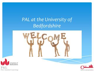 PAL at the University of Bedfordshire