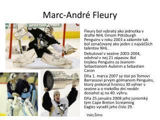 Marc-André Fleury