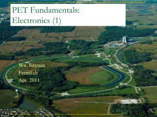 PET Fundamentals:  Electronics (1)