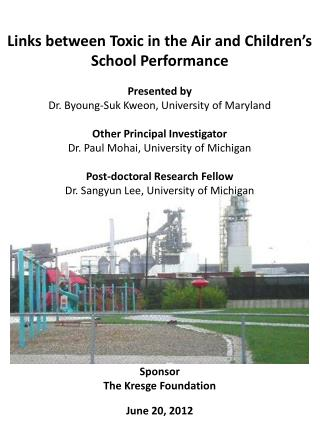 Links between Toxic in the Air and Children's School Performance