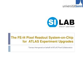 The FE-I4 Pixel Readout System-on-Chip for  ATLAS Experiment Upgrades