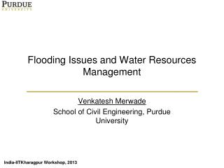 Flooding Issues and Water Resources Management