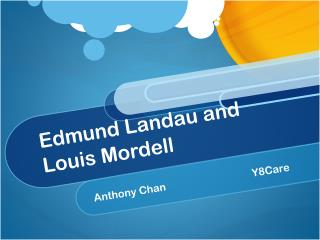 Edmund Landau and Louis Mordell