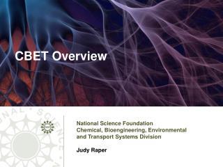 CBET Overview