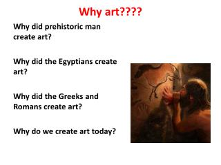 Why art????