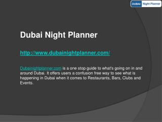 New Year Eve Party Dubai - New year events in Dubai