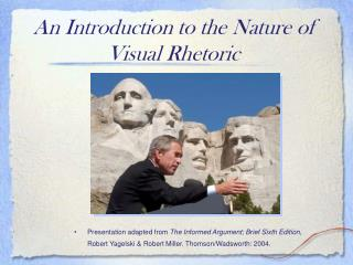 Visual Rhetoric PowerPoint