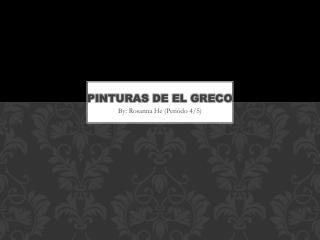 pinturas de El Greco