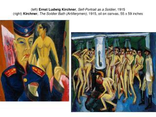 """Emil Nolde  (German, 1867-1956) ,  The Last Supper , 33 x 42 """"  oil on canvas, 1909 (Die Brucke)"""