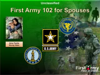 First Army 102 for Spouses