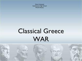 Classical Greece WAR