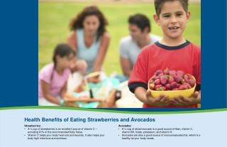 Health  Benefits of Eating Strawberries and Avocados