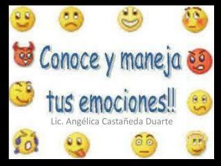 Lic. Angélica Castañeda Duarte