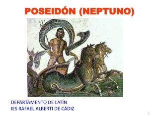 POSEIDÓN (NEPTUNO)