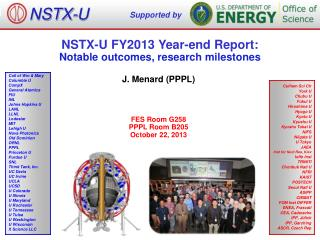 NSTX-U FY2013 Year-end Report:  Notable outcomes, research milestones