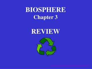 BIOSPHERE Chapter 3