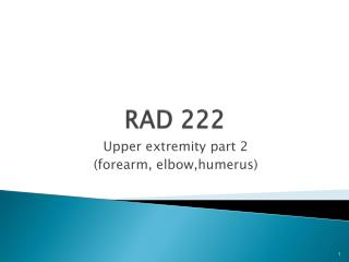 RAD 222