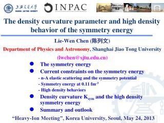The density curvature parameter and high density behavior of the symmetry energy