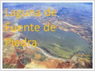 Laguna de Fuente de Piedra Alejandro Acedo Juan Correia Carlos Ortiz