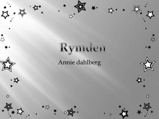 Annie dahlberg