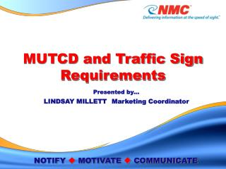 MUTCD and Traffic Sign Requirements