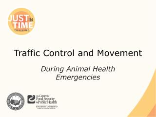 Traffic Control and Movement