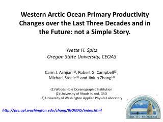 Yvette  H.  Spitz Oregon State University, CEOAS