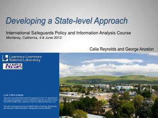 Developing a State-level Approach