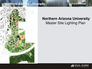 Northern Arizona University Master Site Lighting Plan