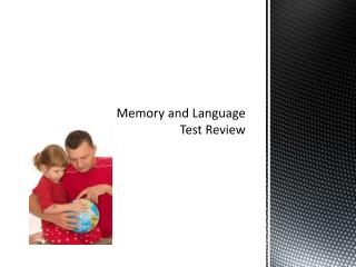 Memory and Language Test Review