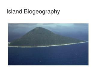 Island Biogeography