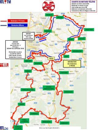 Charte du motard Télévie Adopter  une allure raisonnable Respecter le code de la route