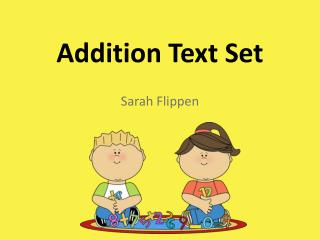 Addition Text Set