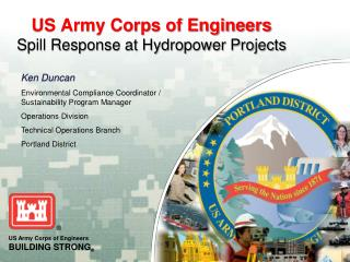 US Army Corps of Engineers Spill Response at Hydropower Projects