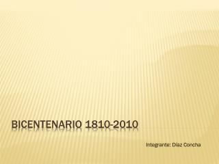 Bicentenario 1810-2010