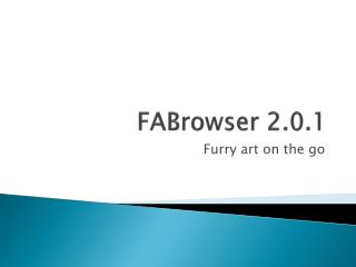FABrowser  2.0.1