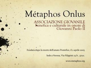 Métaphos Onlus