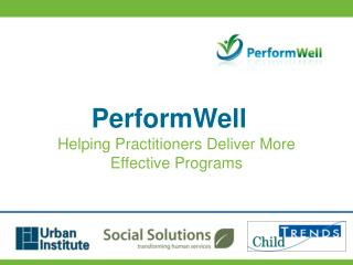 Helping Practitioners Deliver More Effective Programs