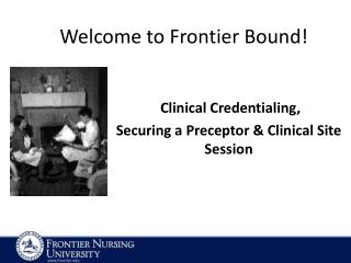 Welcome to Frontier Bound!
