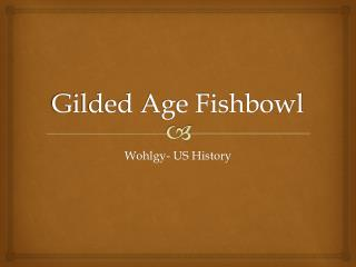 Gilded Age Fishbowl