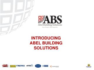 INTRODUCING ABEL BUILDING SOLUTIONS