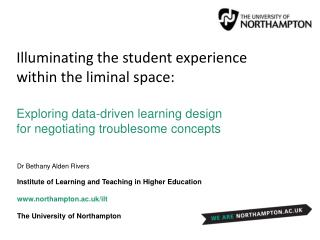 Illuminating the student experience within the liminal space: