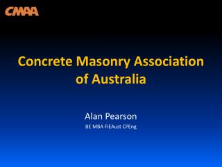 Concrete Masonry Association of Australia