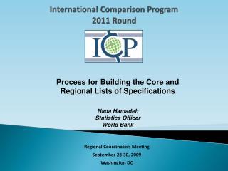 International Comparison Program 2011 Round